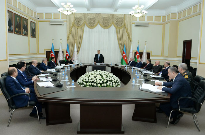 A meeting of the Scientific Research Coordination Council of the Republic of Azerbaijan