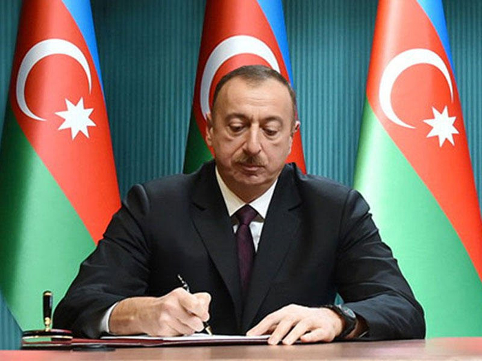 Order of the President of the Republic of Azerbaijan on granting scholarships students of higher education, secondary special and vocational education institutions as well as masters of the Azerbaijan National Academy of Sciences