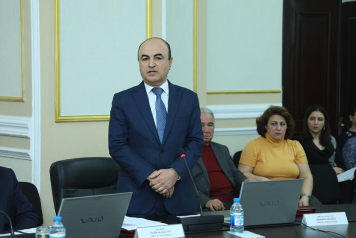 AMEA-nın Yer Elmləri Bölməsinin elmi-tədqiqat institutlarının fəaliyyəti yüksək qiymətləndirilib